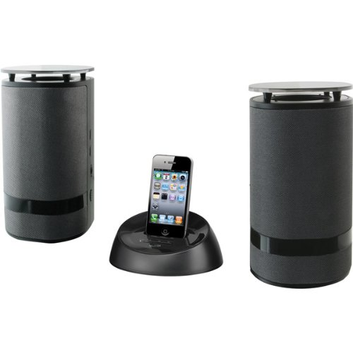 Weather-Resistant Wireless Speaker System With Ipod/Iphone Dock