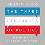 The Three Languages of Politics: Talking Across the Political Divides | Arnold Kling