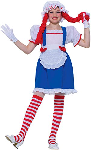 Forum Novelties Rag Doll Child Costume, Medium