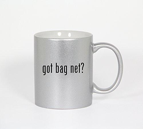 Got Bag Net? - 11Oz Silver Coffee Mug Cup