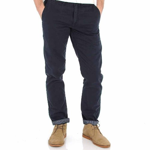 Ted Baker Winchin Classic Fit Chino Trouser In Navy - Size 32/34leg