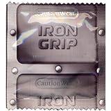 Caution Wear Iron Grip Condoms 100 Bag
