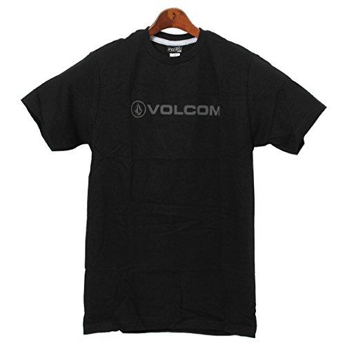 ヴォルコム VOLCOM ニュースタイル 半袖 Tシャツ クルーネック メンズ 02.ブラック S [並行輸入品]