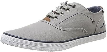 Tom Tailor 7581503- Baskets mode homme -Blanc (White),  43 EU