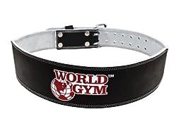 World Gym 4-Inch Padded Training Belt, X-Large