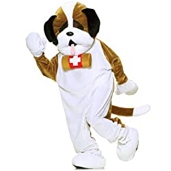 Puppy Dog Plush Economy Mascot Adult Costume - Mascot Costumes