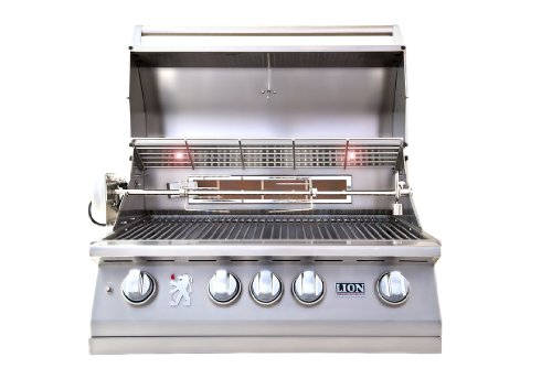 LION L75000 Built in Premium BBQ Liquid Propane Grill (Built In Bbq Grill Propane compare prices)