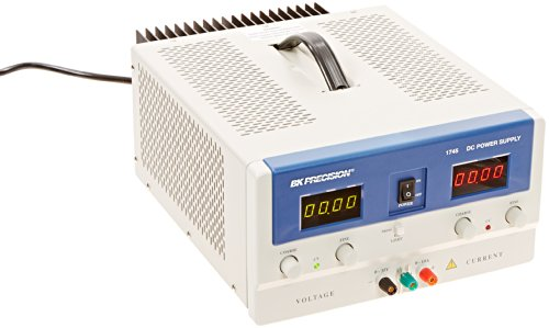 B&K Precision 1745A Single Output Dc Power Supply, Dual 4 Digit Led Display, 0-35 V Output Voltage, 0-10 A Output Current