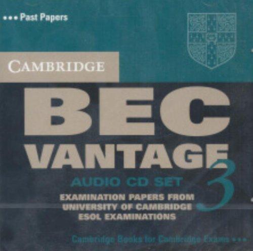 Cambridge BEC Vantage 3 Audio CD Set (2 CDs) (BEC Practice Tests)