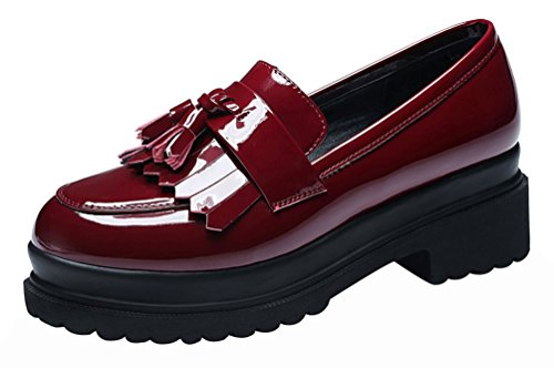 fq-real-women-fashion-cute-casual-slip-on-flower-walking-platform-loafer-shoes55-uk-red
