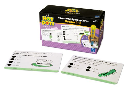 Educational Insights Hot Dots Laugh It Up Spelling, Grades 1-3 - 1