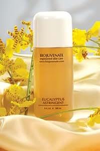 BioJuvenate Engineered Skin Care Professional Spa-Quality Eucalyptus Astringent/Toner for Oily and Blemished Skin with 15% Glycolic Acid & Ammonium Glycolate & 2% Salycylic Acid 6 fluid ounces