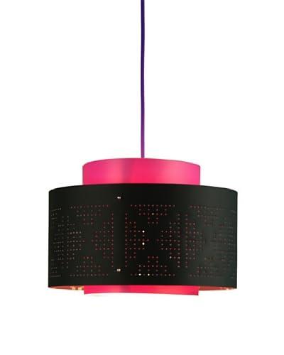 Control Brand Venlo Black/Fuchsia Pendant Lamp