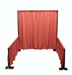 Portable Tradeshow Booth (Pipe and Drape) (No Drapes- Framework Only)