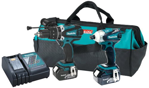 Best Price! Makita LXT238X1 18V LXT Lithium-Ion Hybrid Cordless Combo Kit, 2-Piece