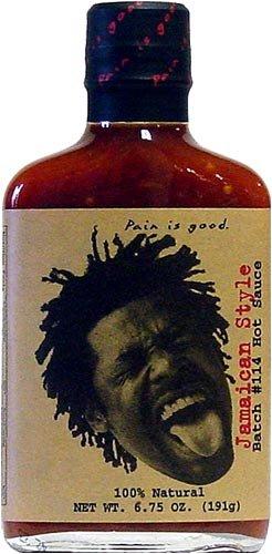 Pain Is Good, Batch #114 Jamaican Hot Sauce, 6.7 fl oz