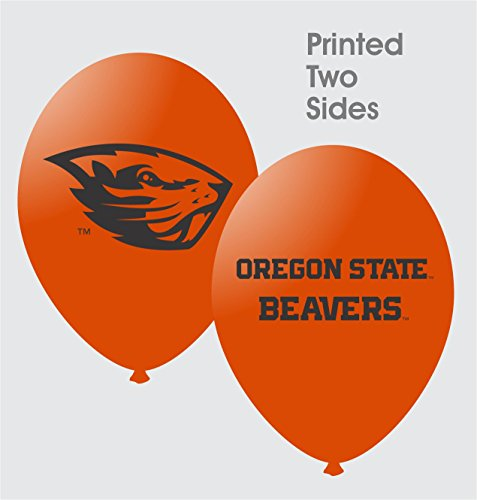 NCAA Oregon State Beavers Orange 10-Pack 11'' Latex Balloons - 1