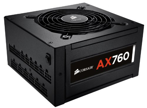 Corsair Professional Series AX 760 Watt ATX/EPS Fully Modular 80 PLUS Platinum Power Supply Unit