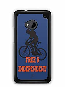YuBingo Free & Independent Designer Mobile Case Back Cover for HTC One M7