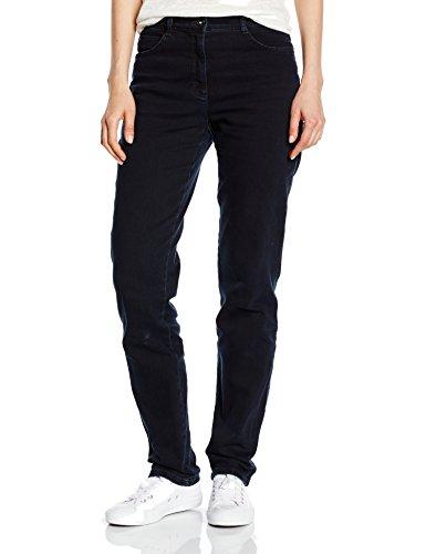 Brax Damen Straight Leg Jeanshose 70-3000, CAROLA, Gr. W31/L30 (Herstellergröße: 40K), Blau (CLEAN BLUE BLACK 22)