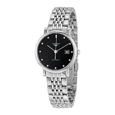 Longines Elegant Collection - L4.310.4.57.6 - Black Diamond Dial Automatic Women's