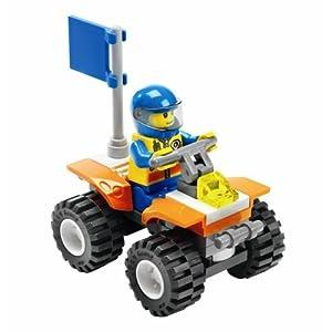 Amazon com lego city police motorcycle 7235 toys games - Modele de construction lego ...
