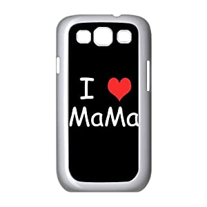 Professional Fashion Design I Love Mama Samsung Galaxy S3 I9300 Cases Samsung Galaxy S3 Case Durable Back Flexible TPU Cover Case for Samsung Galaxy S3 S III i9300