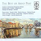 The Best of Arvo P�rt [Classics for Pleasure]by Arvo P�rt