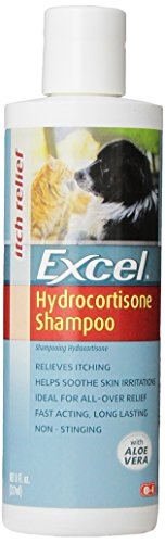 excel-hydrocortisone-shampoo-for-dogs-cats-8-ounce-bottle