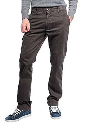 Aeronautica Militare Cargo Pants, Color: Dark Brown, Size: 52 at