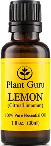 Lemon Essential Oil. 30 Ml. (1 Oz.) 100% Pure, Undiluted, Therapeutic Grade.