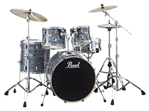 pearl vision vsx825 c431 drum kit strata black cymbals not included musical. Black Bedroom Furniture Sets. Home Design Ideas