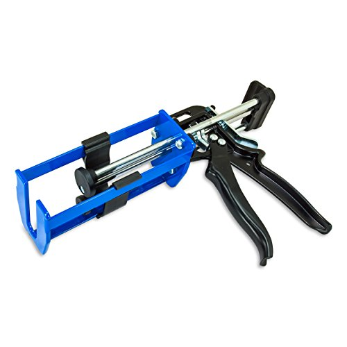 AES Industries 200mL Dual Cartridge Caulking Gun, 1:1 or 2:1 Two Part Applicator (Gun Blue Sealer compare prices)