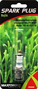 Maxpower 334049 Spark Plug For Chainsaw/Trimmer Champion RDJ7Y from Rotary Corporation