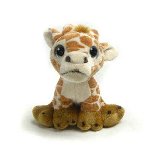 "Wishpets 6"" Sweet Eyes Giraffe Plush Toy"