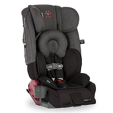 Diono Radian RXT Convertible Car Seat, Black Mist