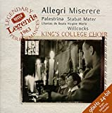 Allegri: Miserere; Palestrina / Willcocks, Kings College Choir