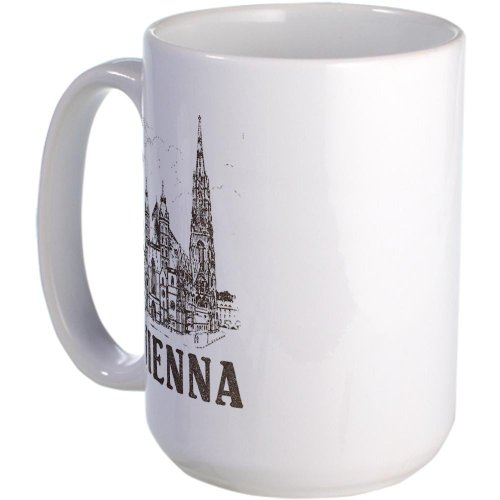 Cafepress Vintage Vienna Large Mug Large Mug - Standard