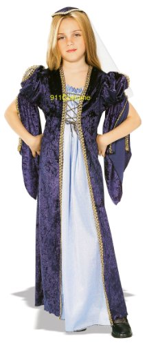 Juliet Renaissance Child Costume Super Saver Child Costume 883805