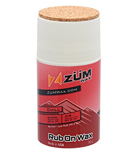 ZUMWax-RUB-ON-WAX-SkiSnowboard-CHILL-Temperature-70-gram-INCREDIBLY-FAST-by-ZUMWax