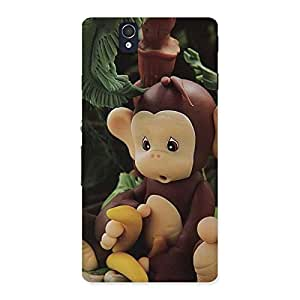 Premium Toy Monkey Multicolor Back Case Cover for Sony Xperia Z