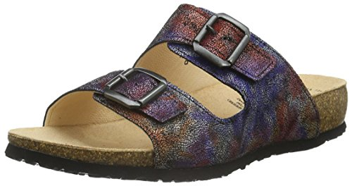 Think!JULIA - Ciabatte Donna , Multicolore (Mehrfarbig (Multicolour 99)), 38 EU