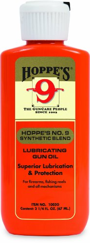 Hoppe's No. 9 Synthetic Blend Lubricating Oil, 2.25-Ounce (Air Gun Oil compare prices)