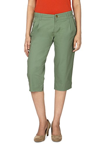 Allen Solly Women Slim Fit Shorts_AWCR314C02579_ 32