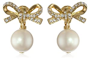 "kate spade new york ""Skinny Mini"" Pearl Drop Earrings"