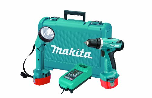 Makita 6271DWPLE 12-Volt 3/8-Inch Cordless Driver/Drill with Flashlight Kit