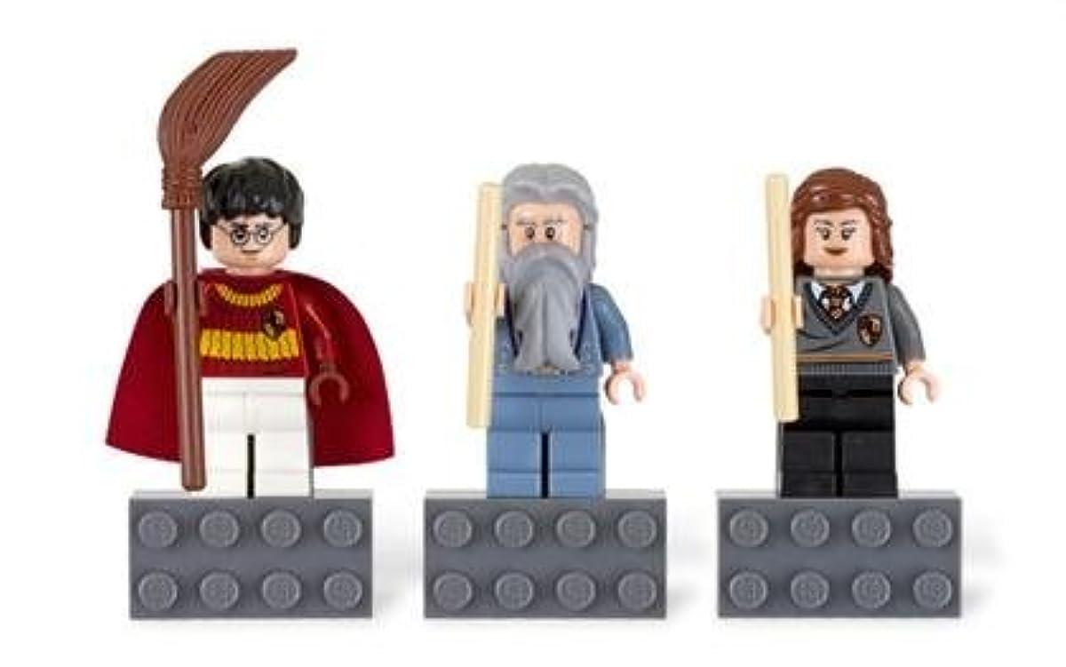 [해외] LEGO HARRY POTTER MAGNET SET: HARRY POTTER, ALBUS DUMBLEDORE, HERMIONE GRANGER / 레고 해리포터 마그넷 세트 【해리포터(퀴디치)고, 알바스단 블루 도어(단 블루 도어 교장)고, 하마이오니그레쟈】 852982-852982