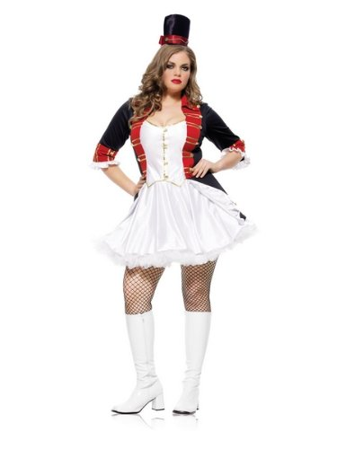Plus Size Two Piece Toy Soldier Costume