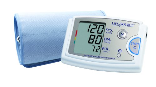 LifeSource Blood Pressure Monitor with AccuFit Extra Large Cuff