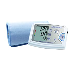 Save $20 on LifeSource Blood Pressure Monitors